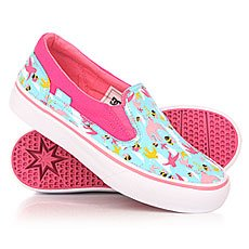 ������� ������� DC Trase Slip On Crazy Pink/White