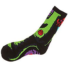 Носки высокие Lib Tech Green Girl Sock Bd Black