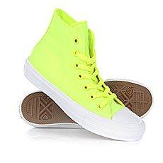 Кеды высокие Converse Ct All Star II Hi Volt Volt Green