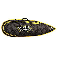 Чехол для вейксерфборда Sticky Bumps Single Boarding 5.0 Black/Green