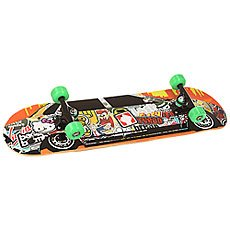 Скейтборд в сборе Turbo-FB Sticker Car Green/Multi 32 X 8.125 (20.6 см)