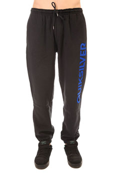 Штаны спортивные Quiksilver Trackpantscreen Real Black