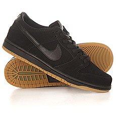��������� Nike Dunk Low Pro IW black/ black Gum/Light brown