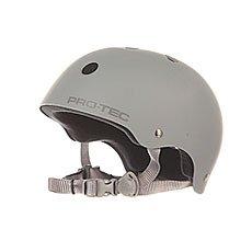 Шлем для скейтборда Pro-Tec Classic Skate Rubber Grey