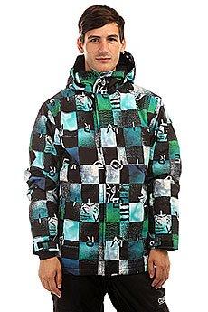Куртка Quiksilver Mission Print Chakalapaki Bluefish