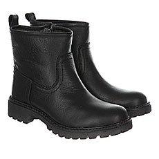 Ботинки зимние женские Wrangler Creek Booty Leather Fur Black