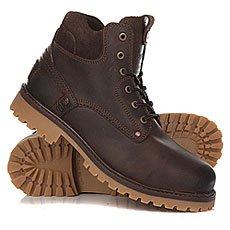 Ботинки зимние Wrangler Yuma Fur Dark Browny