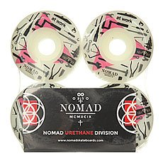 ������ ��� ���������� Nomad At Work Wheels White/Pink 101A 51 mm