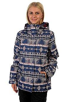 Куртка женская Roxy Rx Jetty Akiya Print Blue Pri