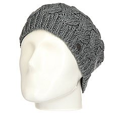 Шапка женская Roxy Love&snowbeanie Mid Heather Grey