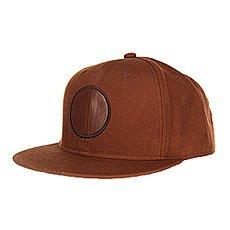 Бейсболка с прямым козырьком Skills 04 Brown