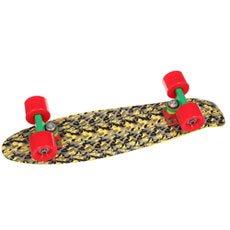 Скейт мини круизер Union Jah Brushestrokes Yellow/Grey/Black 6 x 22.5 (57.2 см)