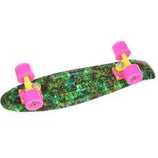 Скейт мини круизер Union Neon Frog Toys Green/Multi 6 x 22.5 (57.2 см)