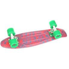 Скейт мини круизер Union Rose Skulls Pink/Light Blue 6 x 22.5 (57.2 см)