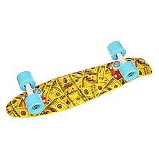 Скейт мини круизер Union Macron Dollars Yellow/Black/Grey 6 x 22.5 (57.2 см)