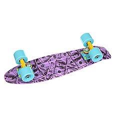 Скейт мини круизер Union Plum dollars Purple/Black/Grey 6 x 22.5 (57.2 см)