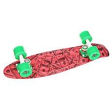 Скейт мини круизер Union Rose Dollars Pink/Black/Grey 6 x 22.5 (57.2 см)