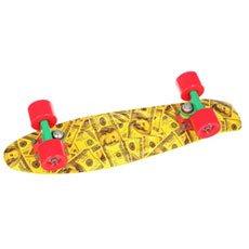 Скейт мини круизер Union Jah Dollars Yellow/Black/Grey 6 x 22.5 (57.2 см)