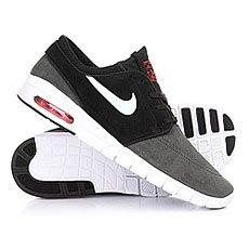 Кеды низкие Nike Stefan Janoski Max L Anthracite/Pure Platinum Black
