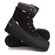 Ботинки высокие DC Travis Black/Battleship/Bla