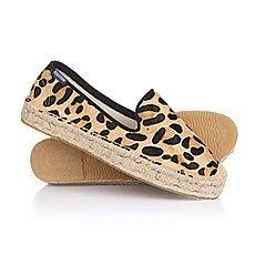 Эспадрильи женские Soludos Smoking Slipper Fashion Leopard Print
