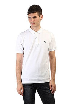 Поло Fred Perry Slim Fit White
