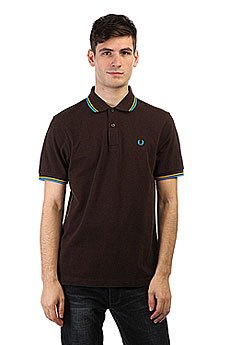 Поло Fred Perry Twin Tipped Brown