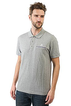 Поло Le Coq Sportif Partido Polo Light Heather Grey