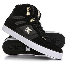 Кеды утепленные DC Spartan High Wc Black/Gold