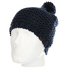Шапка женская Rip Curl Cocoon Beanie Dress Blue
