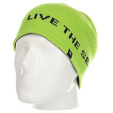 Шапка носок Rip Curl Brash Beanie Lime Green