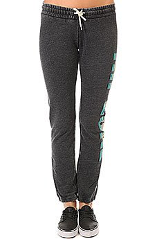 Штаны спортивные женские Rip Curl Active Logo Trackpant Black