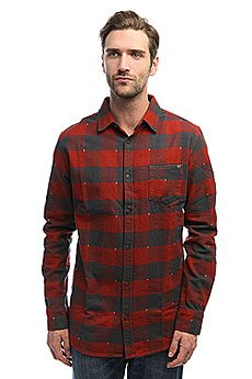 Рубашка в клетку Rip Curl Over And Over Shirt Ketchup