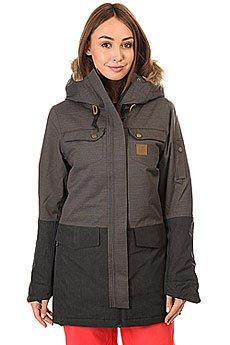 Куртка парка женская Rip Curl Amity Gum Parka Jet Black