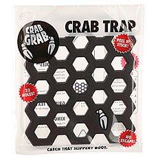 Наклейки на сноуборд Crabgrab Crab Trap Black