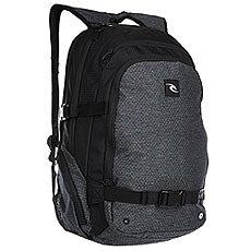 Рюкзак спортивный Rip Curl Posse Ripstop Htr 90 Black
