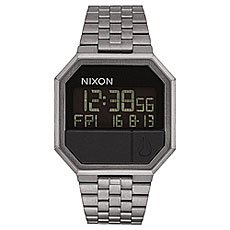 Электронные часы Nixon Re-run All Gunmetal