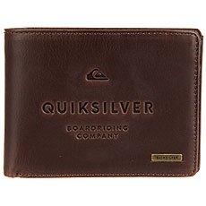 Кошелек Quiksilver Mack Iii Chocolate