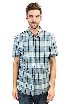 Рубашка в клетку Quiksilver Everydaycheckss Stone Blue Check