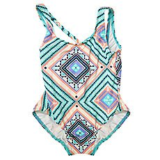 Купальник детский Roxy Hippie Col 1pc G Pool Blue Free Spiri
