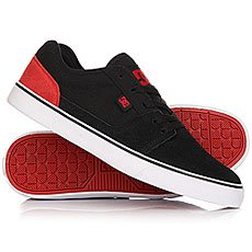 Кеды низкие DC Tonik Black/Red/White