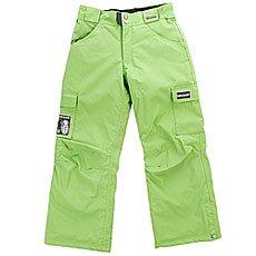 Штаны сноубордические детские Grenade Army Corps Green