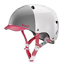 Шлем для сноуборда женский Bern Water Lenox Satin White