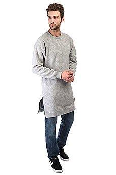 Толстовка классическая Skills Long Sweatshirt Серая