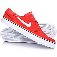 Кеды низкие Nike Zoom Stefan Janoski Max Orange/White Black