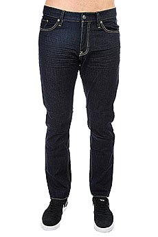Джинсы прямые DC Worker Straight Indigo Rinse