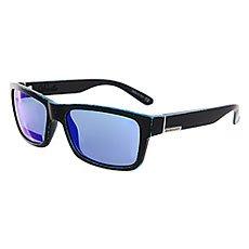 Очки Quiksilver Deville Matte Black-worn Blue