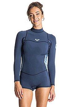 Гидрокостюм (Комбинезон) женский Roxy 22synlslspgbc Blue Print