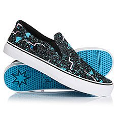Слипоны DC Trase Slip-on Black/Fluorescent