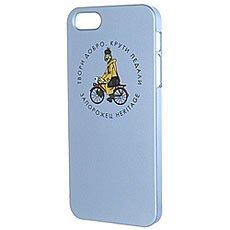 Чехол для iPhone Запорожец Простоквашино Печкин Iphone 5 Голубой